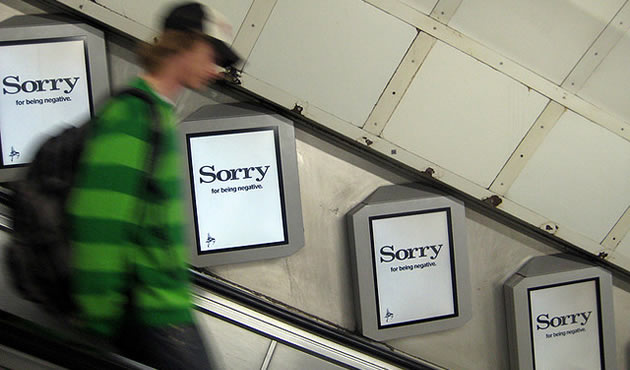 London guide - sorry posters