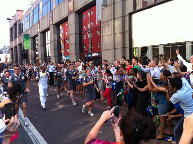 Olympic Torch - bearer 2