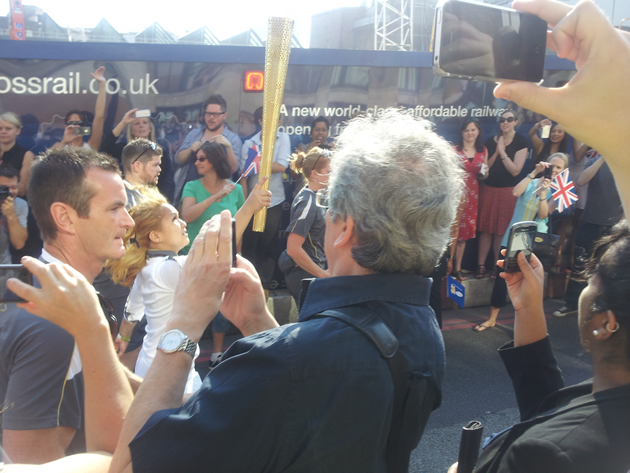 Olympic Torch - last