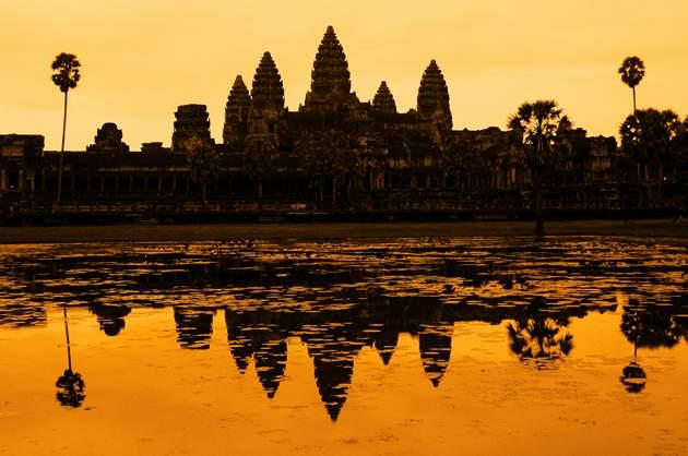 Travel money - Ankor Wat