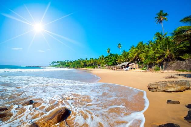 Travel money - beach sri lanka