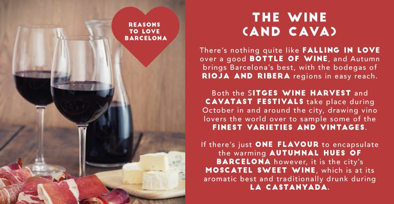 Reasons to Fall In Love with Barcelona: Wine