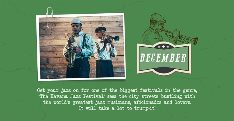 December - Havana Jazz festival