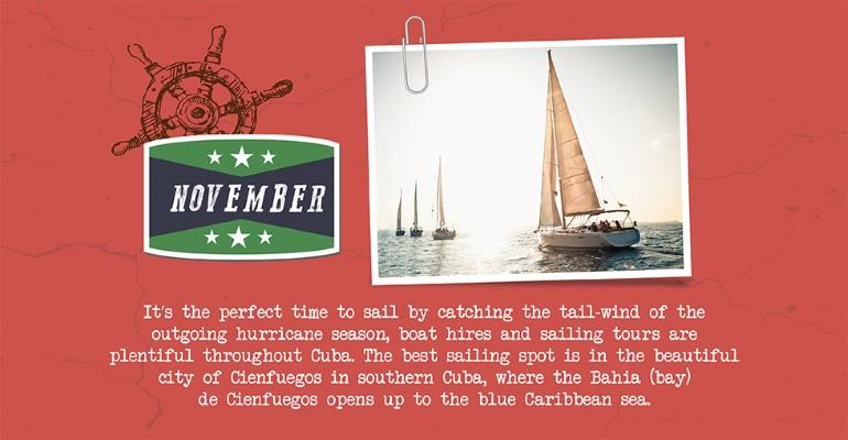 November - sailing