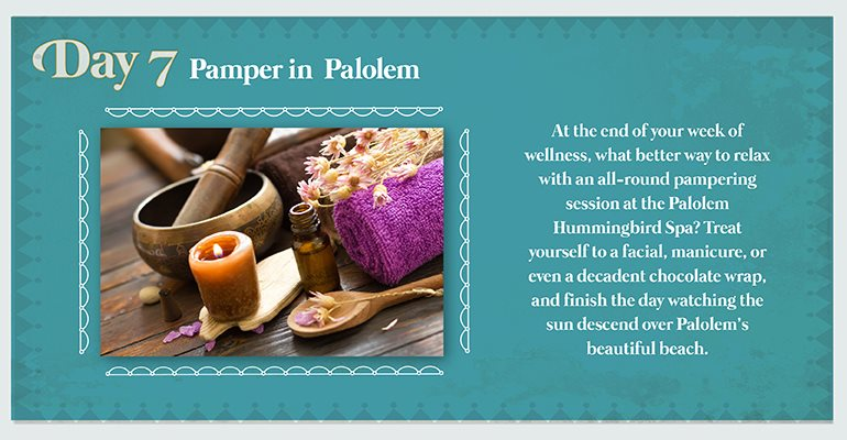 Day 7: Pamper in Palolem