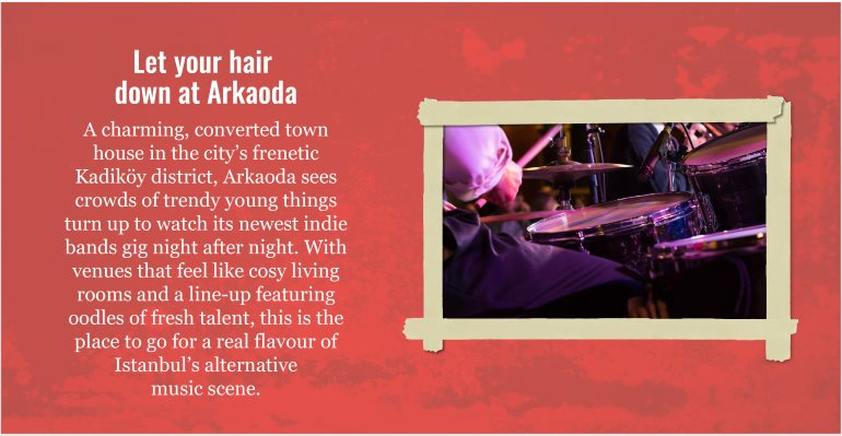 Let your hair down at Arkaoda