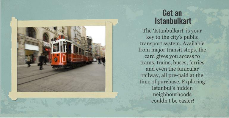 Get an Istanbulkart