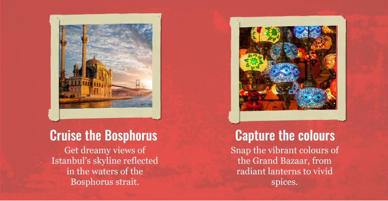 Photos: Bosphorus + colours