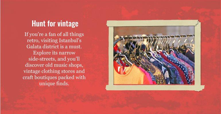 Hunt for vintage