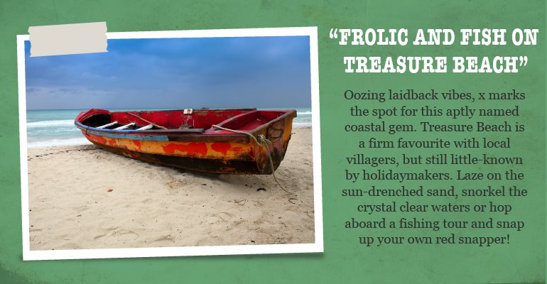 Frolic and fish on Treasure beach