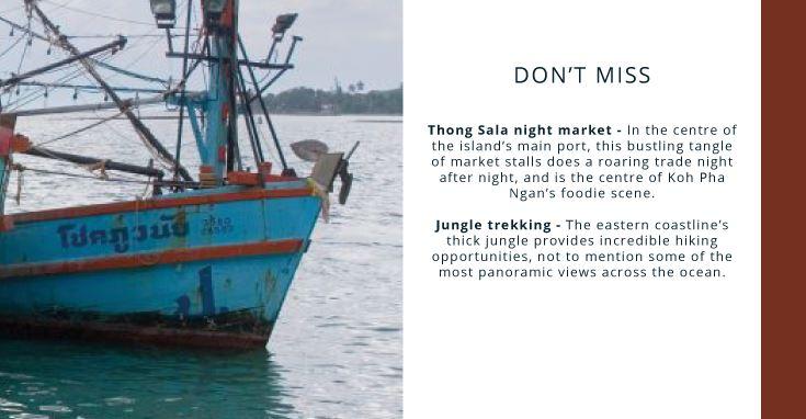 Koh Pha Ngan: don't miss
