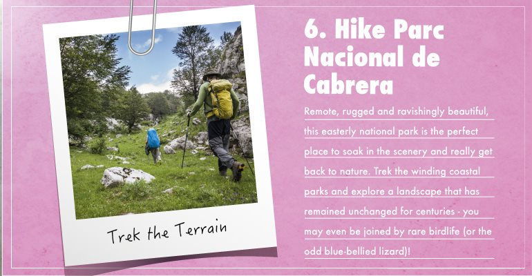 Hike Parc Nacional de Cabrera