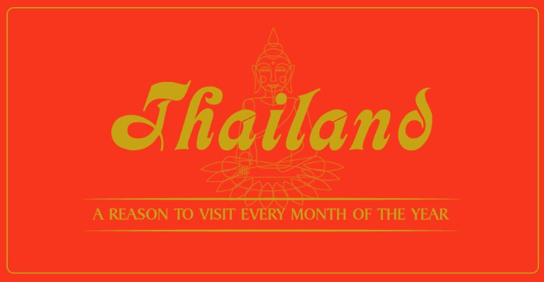 Thailand Month by Month Graphic