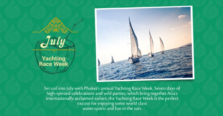July - Yachting Race Week