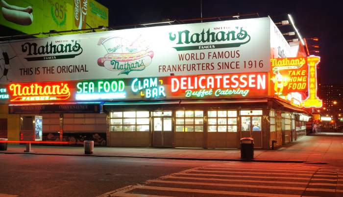 nathans new york on a  budget
