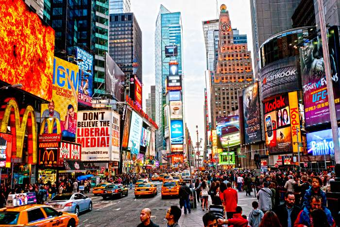times-square new york on a budget