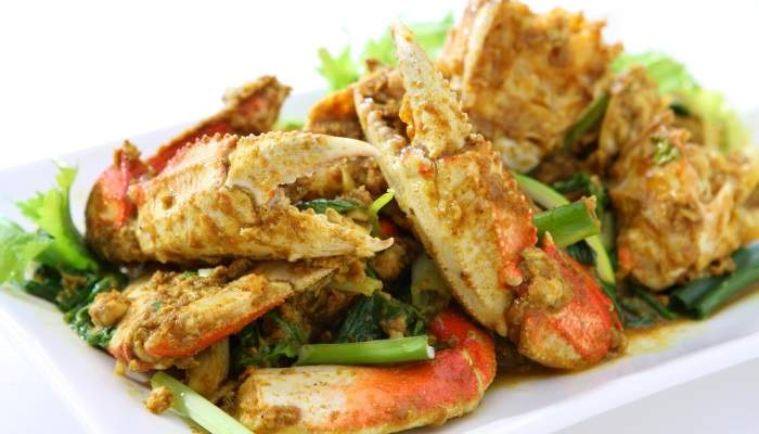 Trinidad crab curry
