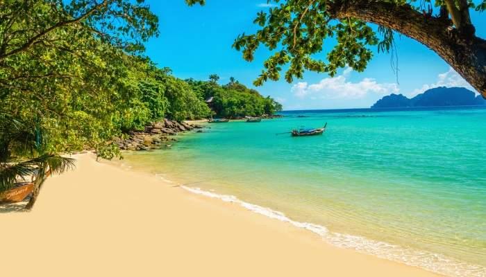 trinidad beach scene