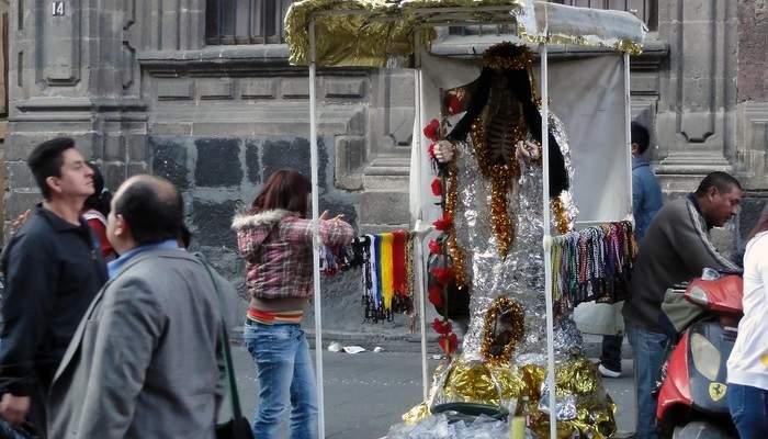 mexico city santa muerte