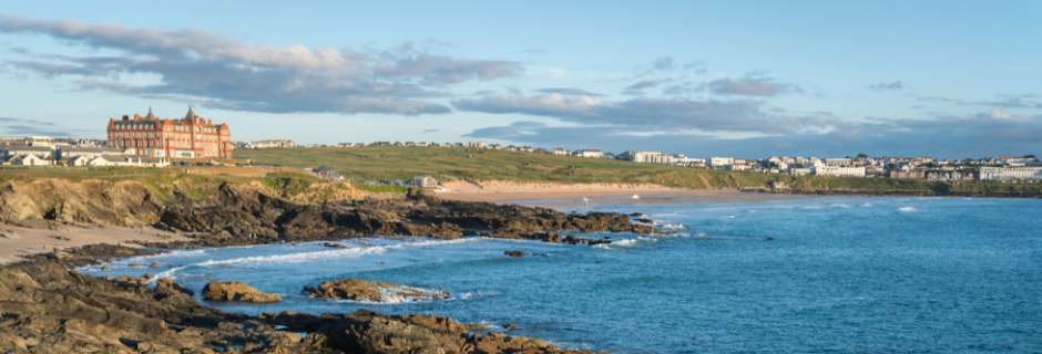 Headland Hotel Newquay from The Witched film