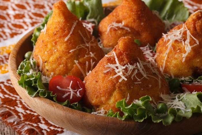 Arancini from Palermo, Sicily