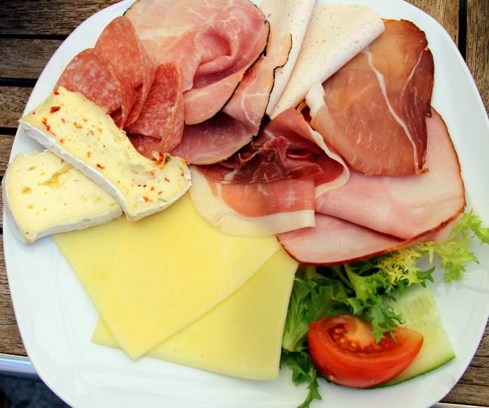 Continental Meats & Cheeses - German Breakfast