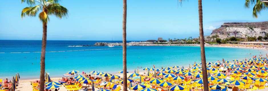 Main Gran Canaria beach