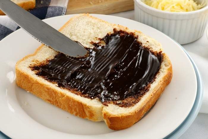 Vegemite on Toast - Australian Breakfast