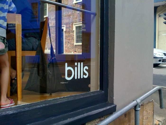 Bills brunch in Australia