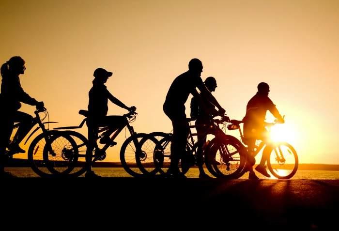 cycling the coast of tossa de mar