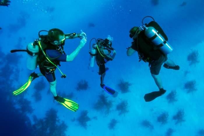scuba diving in mar menuda, tossa de mar