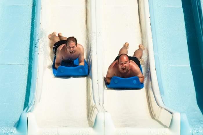 water park fun at water world in lloret, costa brava