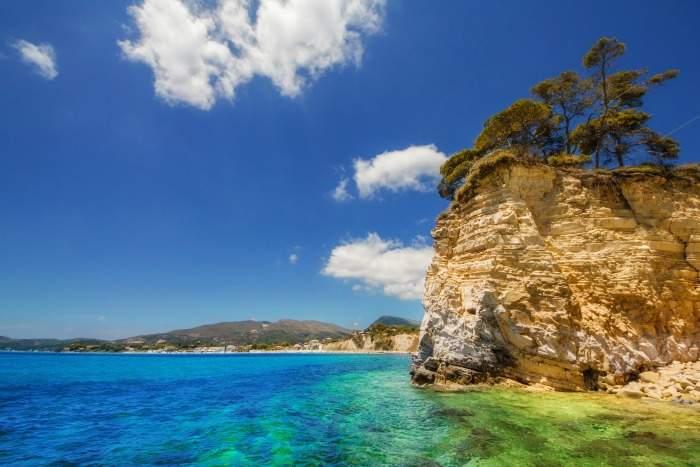 Agios Sostis Island in Zante