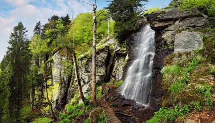 Waterfall Bystre