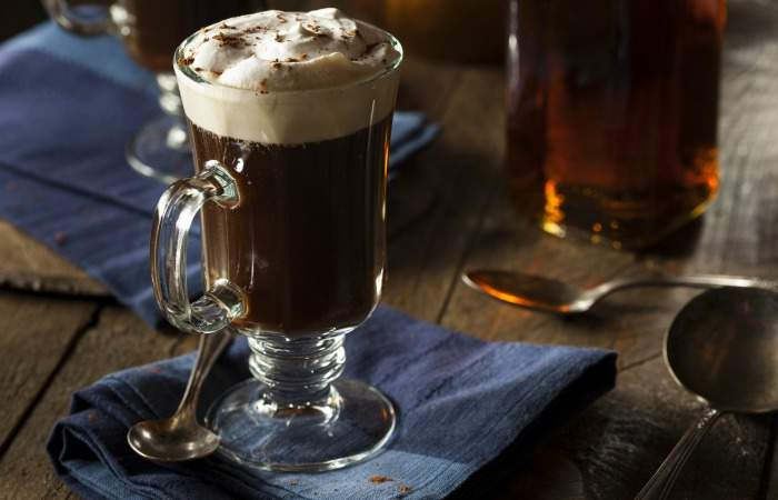 homemade-irish-coffee-with-whiskey-and-whipped-cream