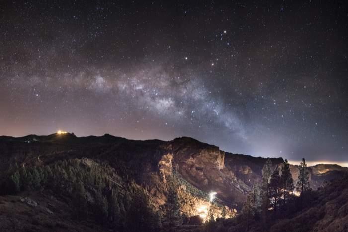Canary Islands stargazing milky way