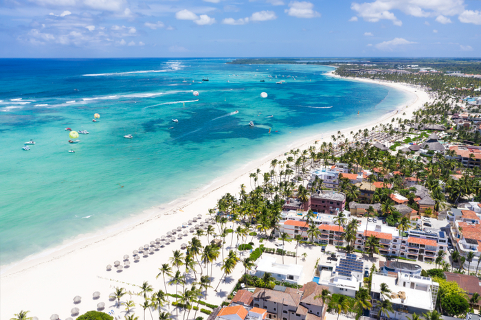 Coconut coast, Dominican Republic