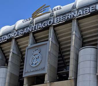Real Madrid's Santa Bernabeu Stadium