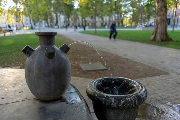 drinking fountain Ljubljana, Slovenia