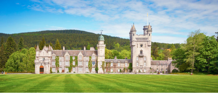 Balmoral Estate and Castle, Scotland, Cairngorms National Park