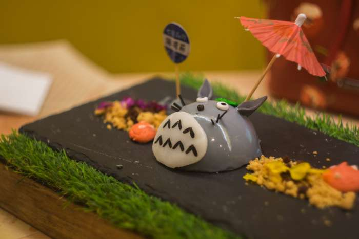 Studio Ghibli character as a cake