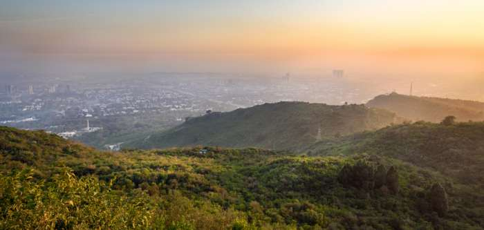 View of Islamabad from the Margalla Hills