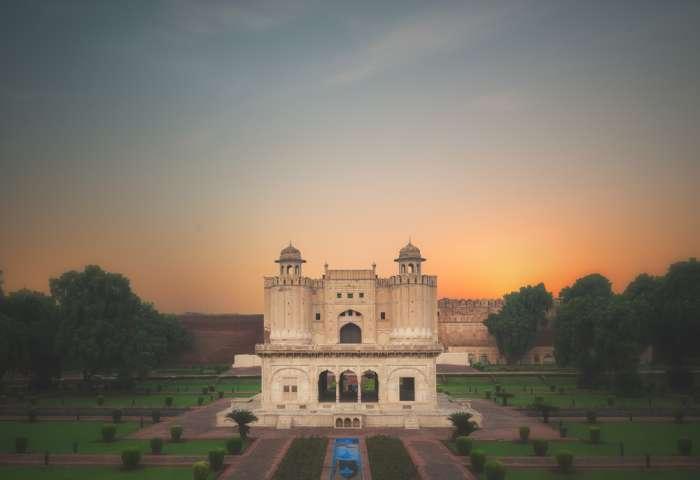 Lahore Fort Shahi Qila during sunset