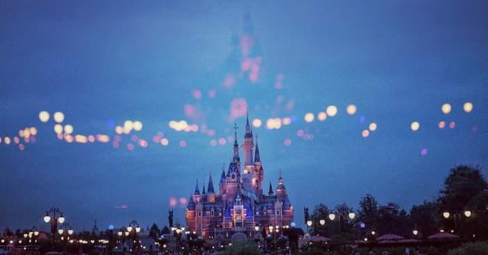Disneyland castle