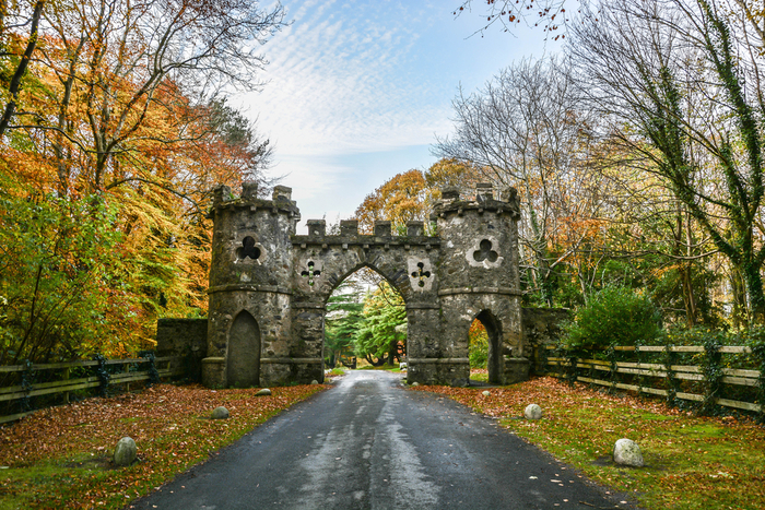 Tollymore Park Gate, Northern Ireland