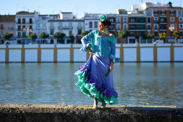 Flamenco dancer in Seville