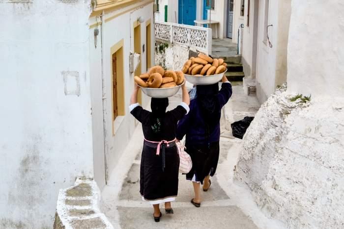 Easter bread in Greece