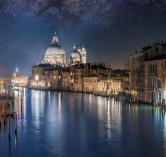 Starry night in Venice