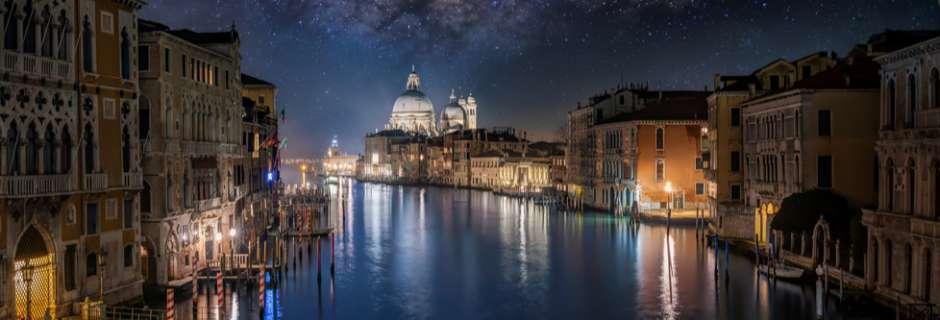 Starry night in Venice