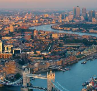 Greater London skyline